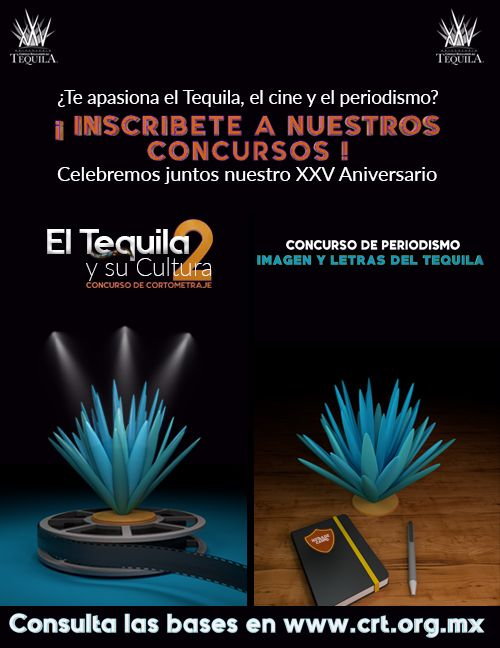 ¿Te apasiona el Tequila, el Cine y el Periodismo?